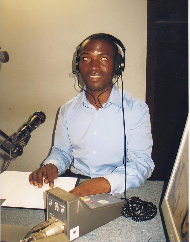 """Photo of Meet Jean Pascal Somb LINGOM """"The Disabled Able"""" Journalist"""