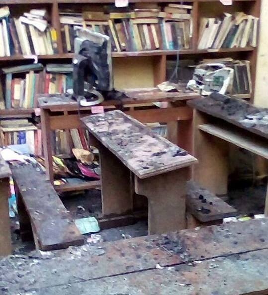Photo of Fire Enters GCE Examination Hall In Limbe