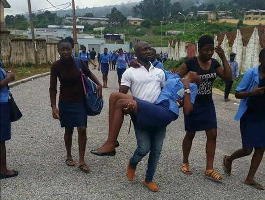 Photo of Ten Students Admitted After Bee stung in GSS Buea Town
