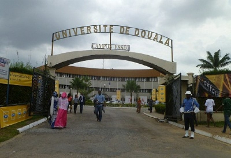Photo of Two University of Douala Students  Appear Before The 'DISCOM' For Kissing in Public