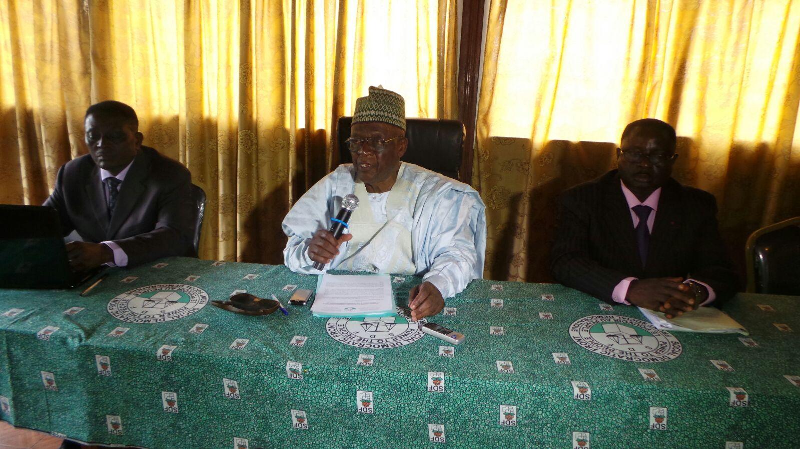 Photo of Cameroon-NEC Meeting : SDF Accuses Biya Regime of Fighting Undeclared War Against Anglophones