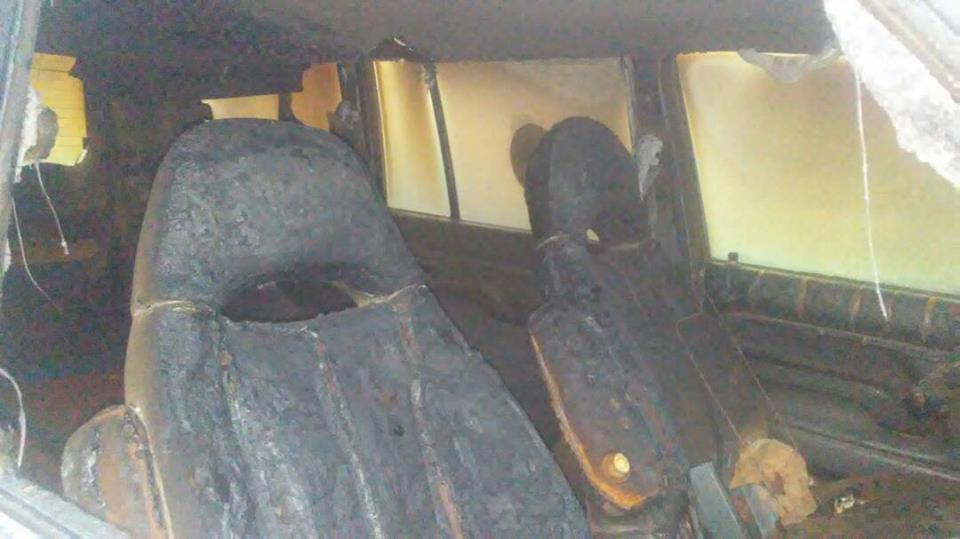 Photo of Thieves Attack,Burn Hearse At Residence of NWR Trade Delegate,Warns Him to Back-Off