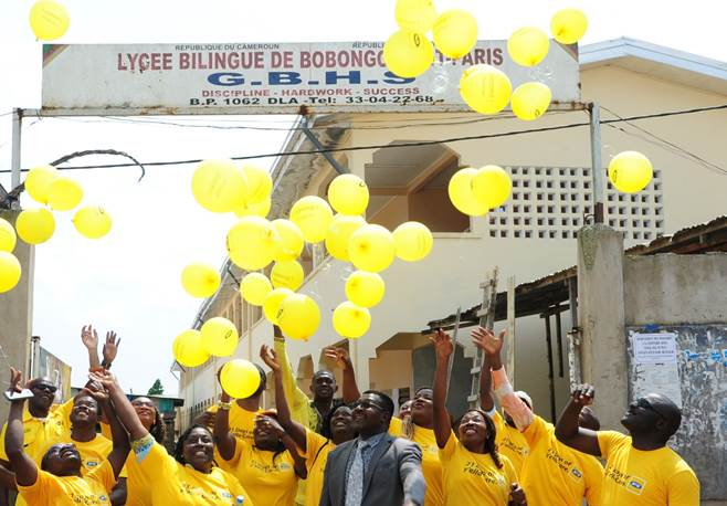 Photo of MTN Cameroon Employees Commit in Favour of Quality Education For All