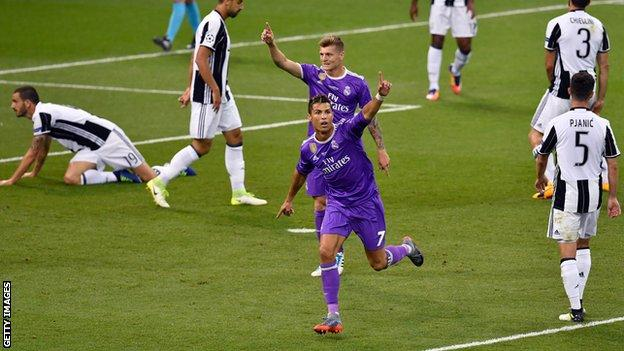 Photo of Real Madrid Beats Juventus 4-1 to Win Back-to-Back UEFA Champions League