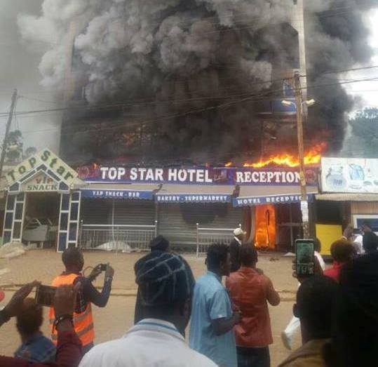 Photo of Top Star Hotel Visited By Fire