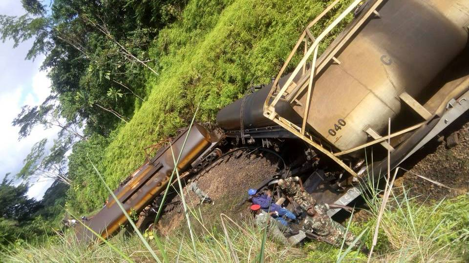Photo of Makondo-Ngwei: One Security Guard Injured In Cargo Train Derailment