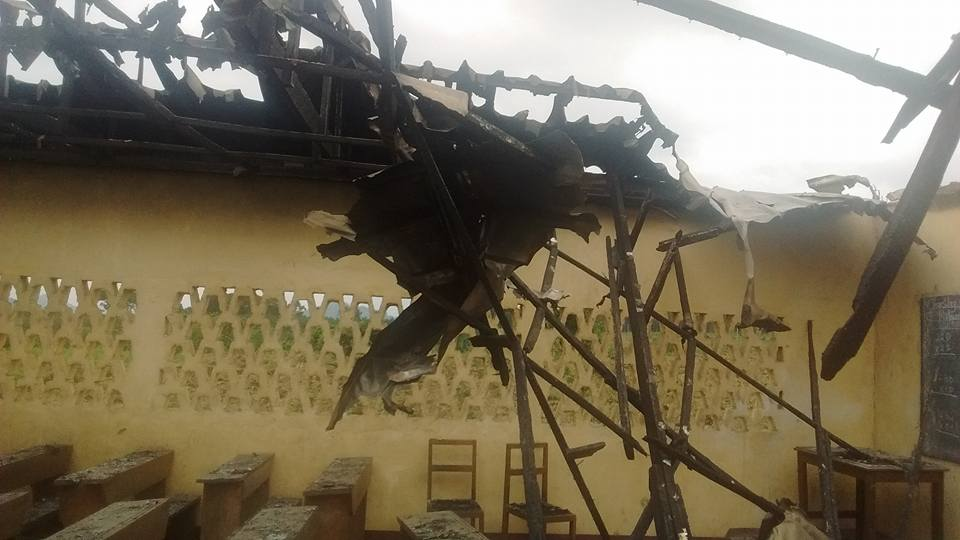 Photo of Arson Acts Continue, GS Mutengene In Ruins