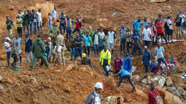 Photo of Sierra Leone mudslides: President Launches SOS