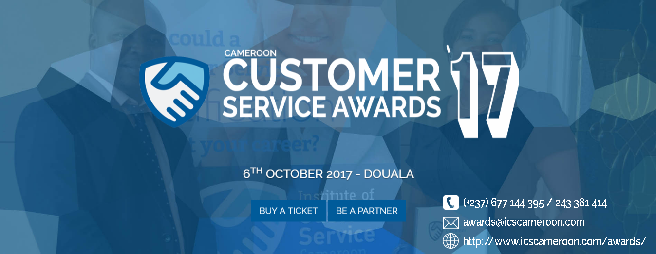 Photo of Press Release: Institute of Customer Service Cameroon Launches First International Customer Service Awards Cameroon 2017