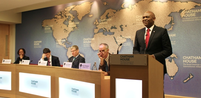 Photo of ELUMELU AT CHATHAM HOUSE: The Pervasive Negative Narrative Around Africa Is Our Continent's Greatest Challenge