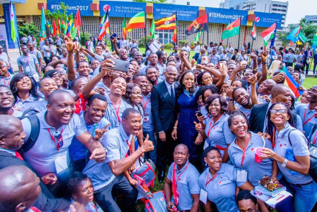 Photo of PRESS RELEASE: Tony ELUMELU Foundation (TEF) Wraps Up 2017 TEF Entrepreneurship Forum – Largest Gathering Of African Entrepreneurs
