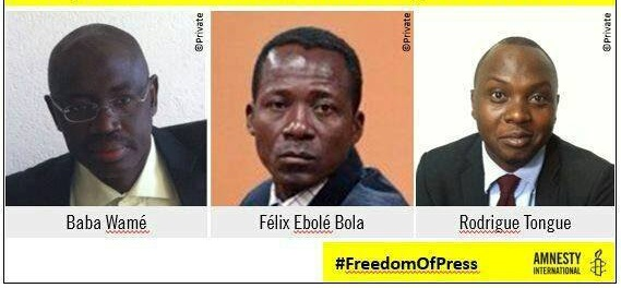 Photo of CPJ Demands Drop of Criminal Defamation Charges Against Three Cameroonian Journalists