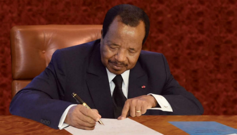 Photo of President Paul Biya Dismisses A Police Commissioner