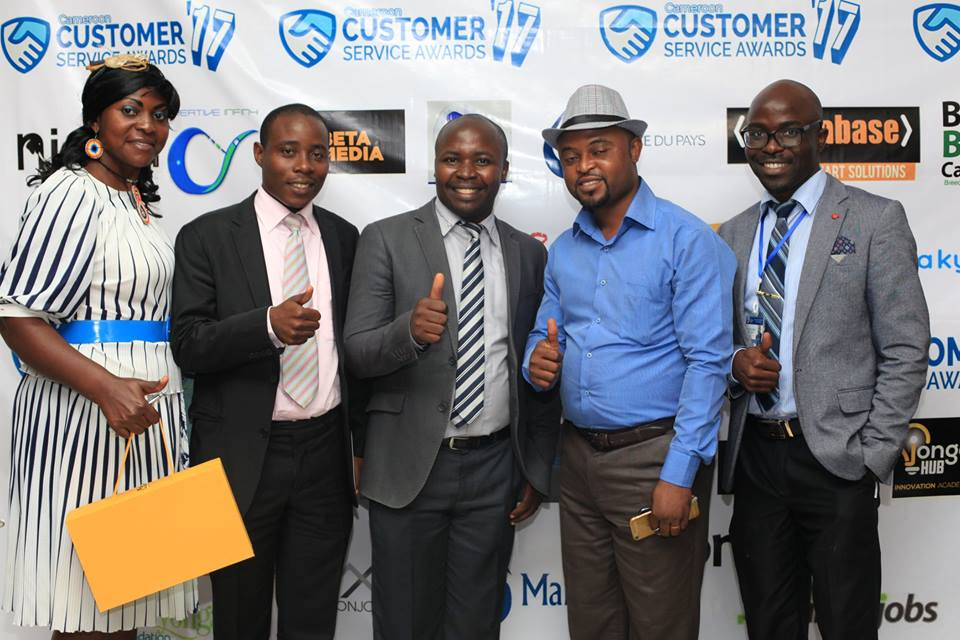 Photo of 2017 Customer Service Awards Cameroon Winners