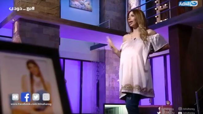 Photo of Egyptian TV presenter sentenced over pregnancy remarks
