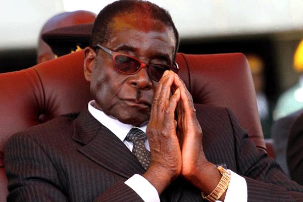 Photo of Mugabe Resigns