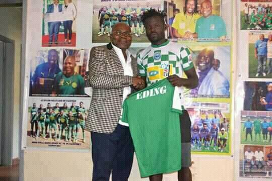 Photo of Eding FC Of Lekie Secures Services Of Nnameji Willy Stephan, Others