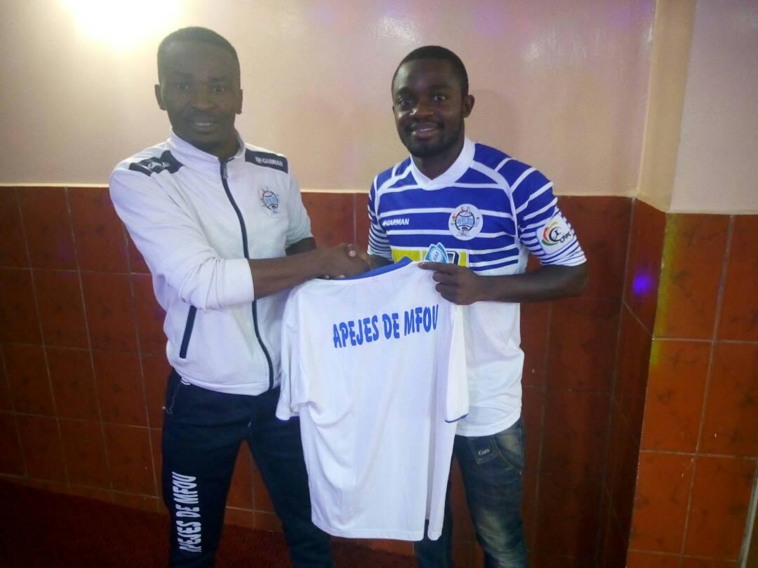 Photo of Elite One Co-Top Scorer, Francis Maximilan Elimbi Joins Apejes Of Mfou From Aigle Royal Of Menoua