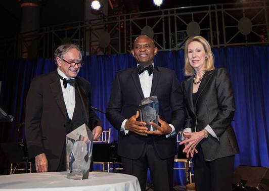 Photo of Business Council of International Understanding Honours Tony O. Elumelu with the Dwight D. Eisenhower Global Entrepreneurship Award