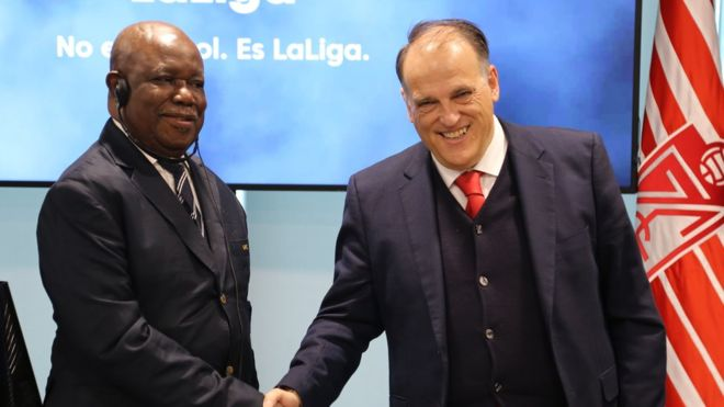 Photo of Spanish La Liga Agrees A Deal With Cameroon Professional Football League