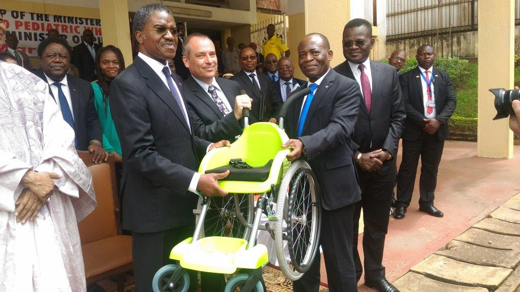 Photo of WHO Donates 150 Wheelchairs To Improve Paediatric Health In Cameroon