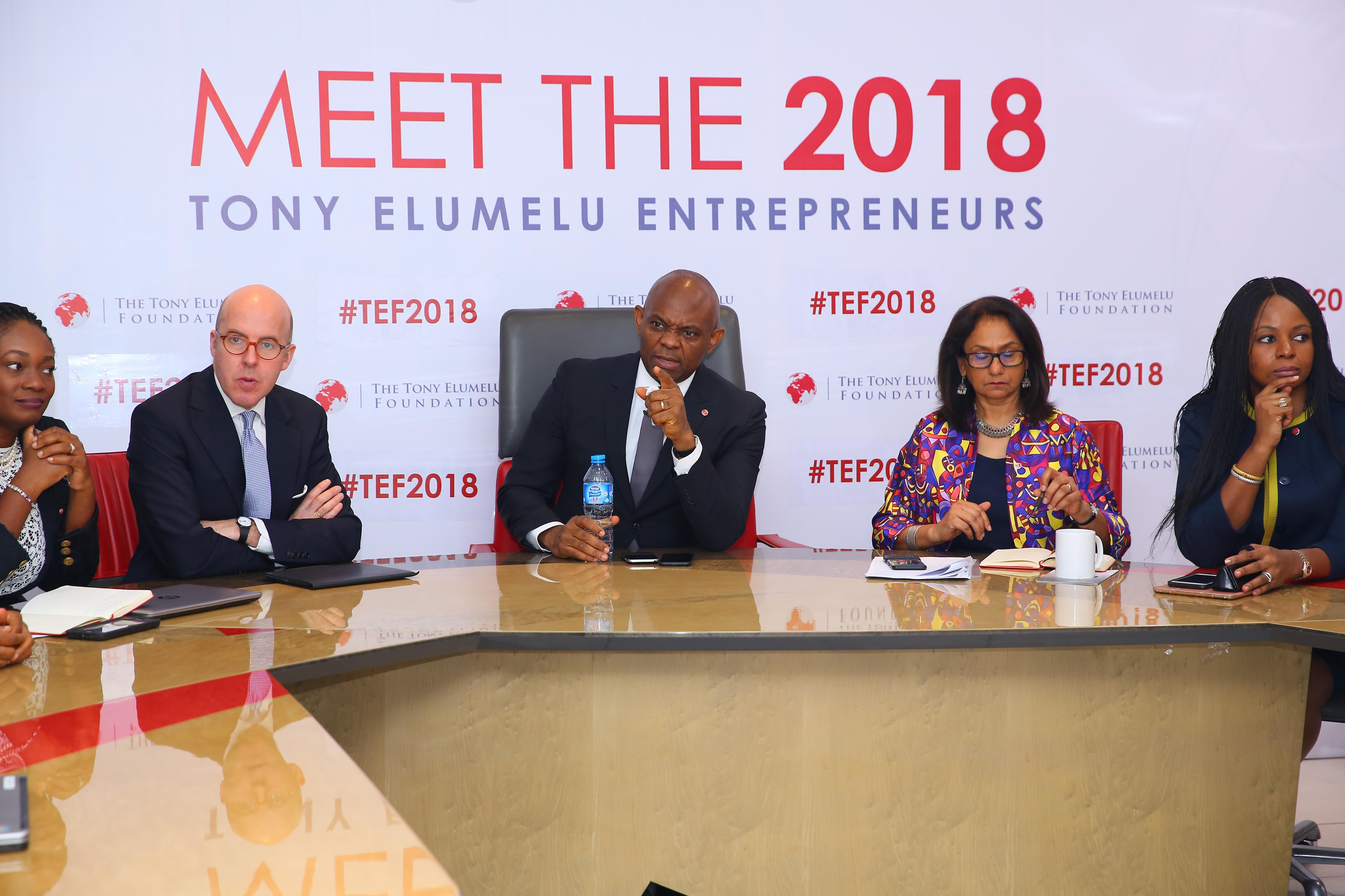 Photo of Tony Elumelu Foundation Selects 1,000 Entrepreneurs For 2018 Programme –  Red Cross, UNDP & Indorama Partnerships Support Further 250 Beneficiaries