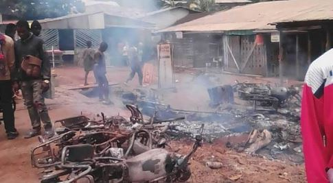 Photo of CNA Pictures : Destruction of Properties In Bafut