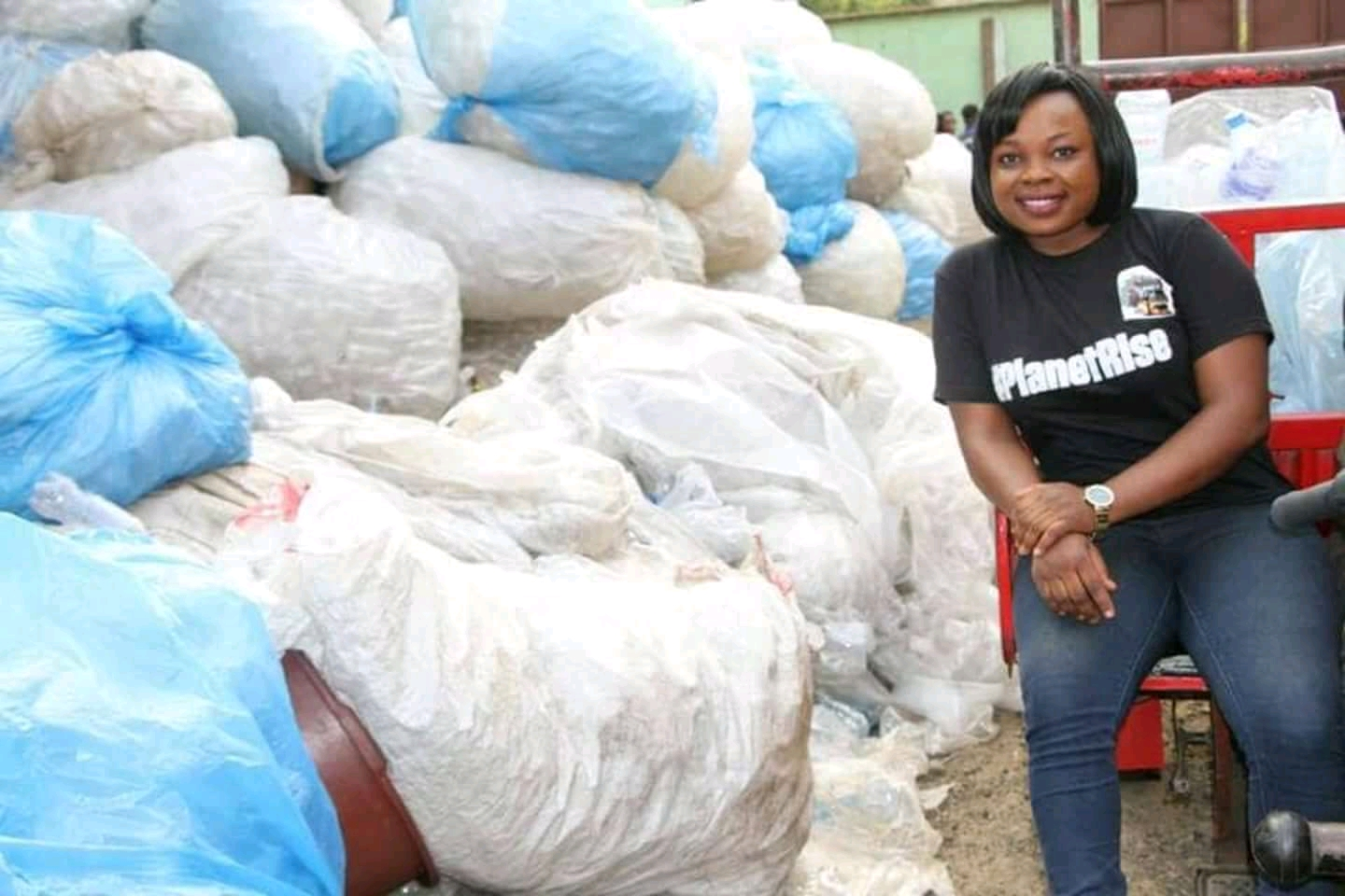 Photo of Environmental Journalist, Regina Leke, Wages War Against Plastic Pollution