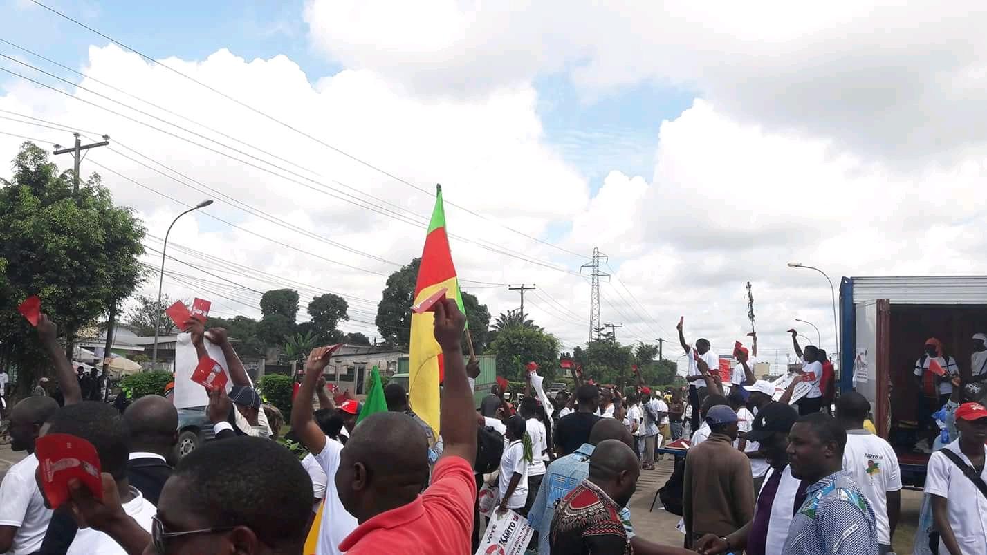 Photo of Bonaberi, Near Explosion