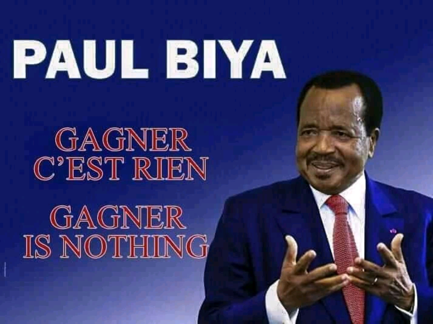 Photo of Paul Biya's Campaign Team, Provoke Anglophones With Intentional Language Errors