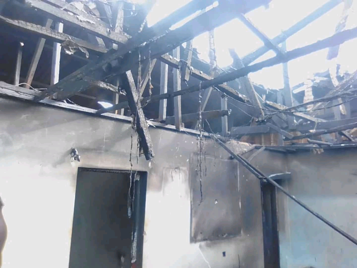 Photo of Balikumbat Gendarmerie Post, ELECAM Kits Razed By Fire