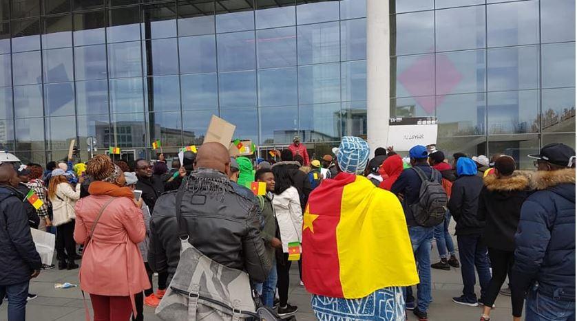Photo of Sunday Protest,The Test Of Francophone Reawakening