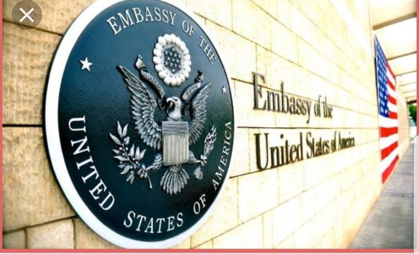 Photo of U.S Embassy Warns Citizens Against Travel To NW,SW