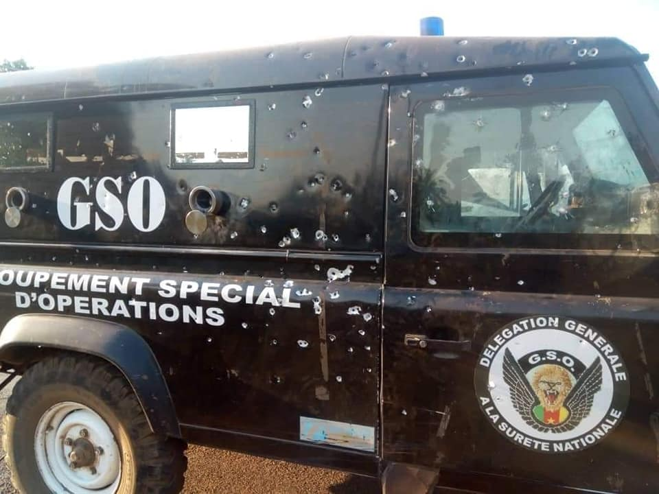 Photo of Clashes In Bamenda Leaves Stores, Vehicles shattered