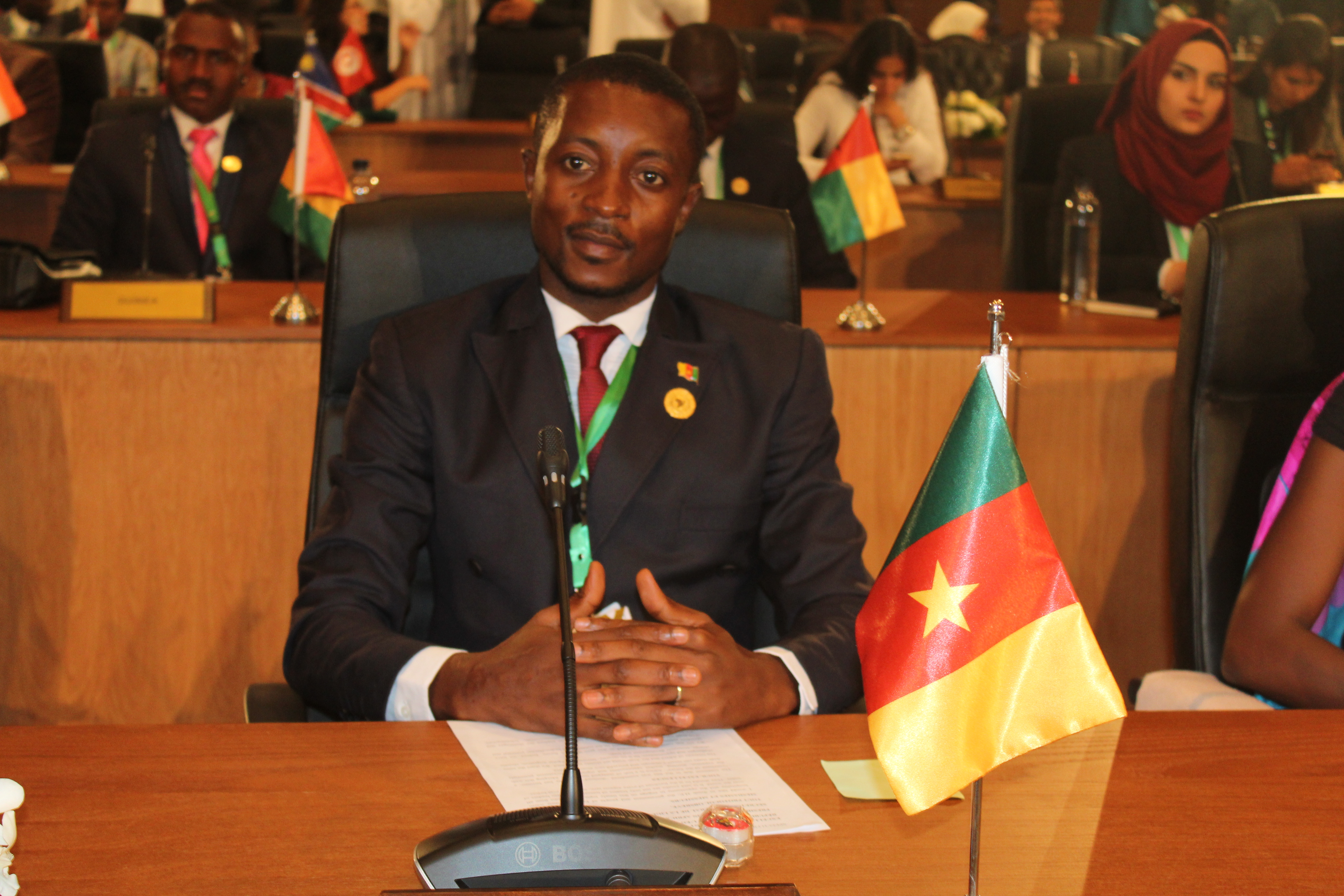 Photo of Mofor A. Wopimazi Appointed Cameroon's Youth Ambassador To The Arab, Africa Council For Integration And Development.