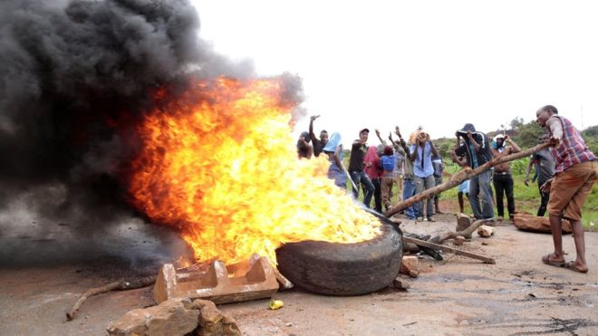 Photo of BBC News: Zimbabwe Opposition Accuses Government Of Brutal Crackdown