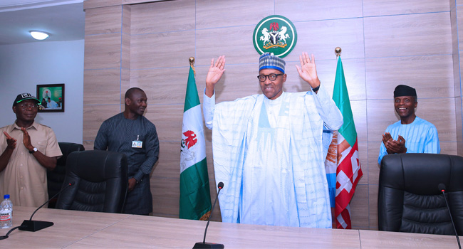 Photo of 'I Am Deeply Humbled': Buhari Thanks God, Nigerians For His Re-Election (Full Speech)