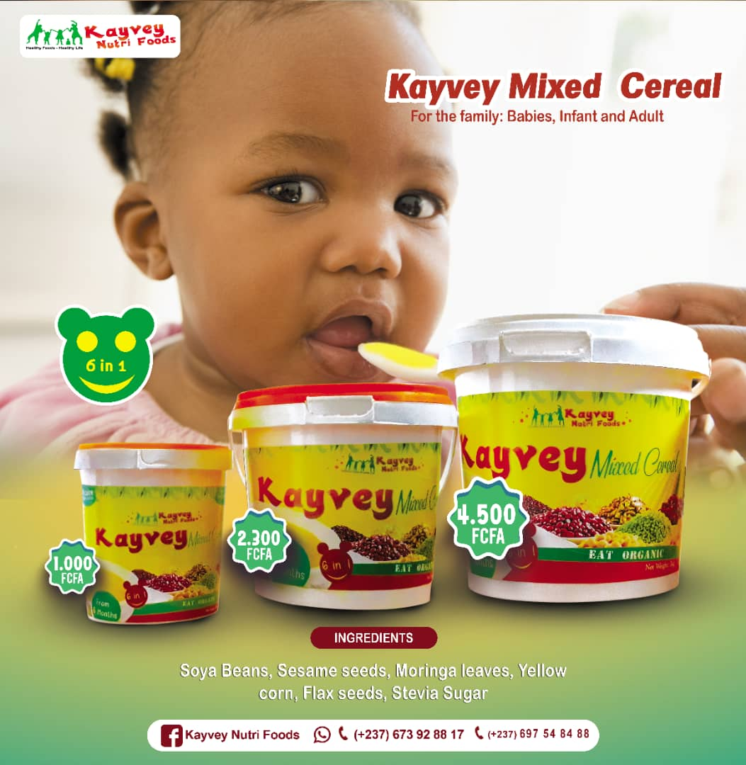 Photo of CNA Business: Kayvey Nutri Foods,Unveils Mixed Cereals For Children