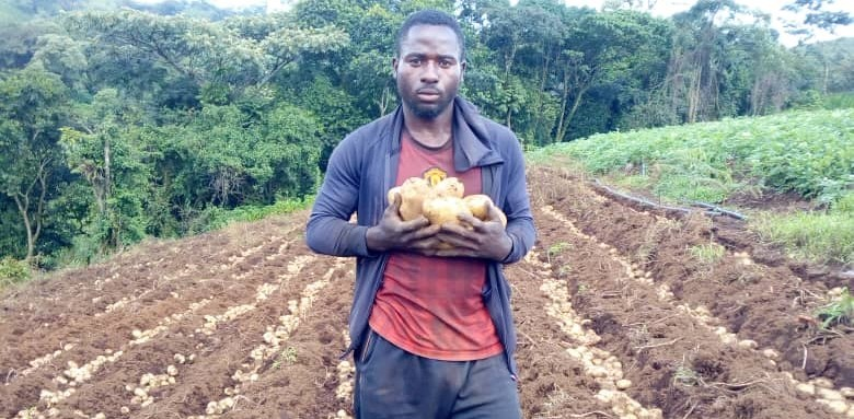 Photo of Meet Mogou Christopher, The Farmer, Trainer And Motivator