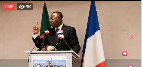 Photo of Maurice Kamto Undresses Cameroon Government In Paris