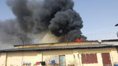 Photo of Douala Central Prison Goes Up In Flames
