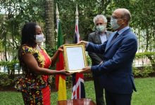 Photo of Her Majesty The Queen Recognises Wimbum Journalist, Comfort Mussa, With Commonwealth Points Of Light Award