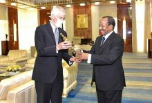 Photo of Biya Receives Outgoing US Ambassador