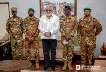 Photo of Rawlings Receives Malian Military Leaders