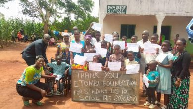 Photo of How Etombi Foundation Is Changing The Lives Of Underprivileged Children In Cameroon