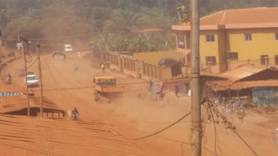 Photo of Residents Along National Number 6 Road Now Eat, Drink And Breath Dust