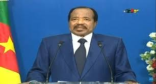 Photo of President Paul Biya's End of Year speech 2020